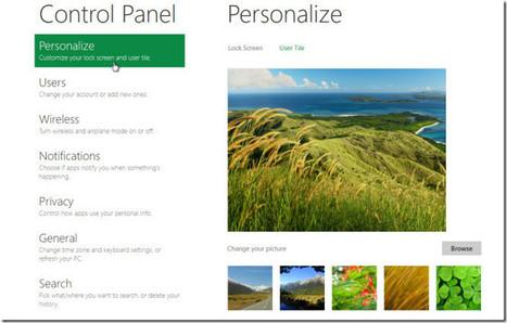 Top Ten Features of Windows 8 Control Panel   Microsoft   Scoop.it