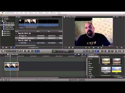 Final Cut Pro X Tutorial – How To Sync External Audio Automatically ... | Digital Video Storytelling | Scoop.it