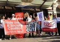 Trade union protest againt closure of Whitechapel station ticket office - East London Advertiser | Organising Campaigns | Scoop.it