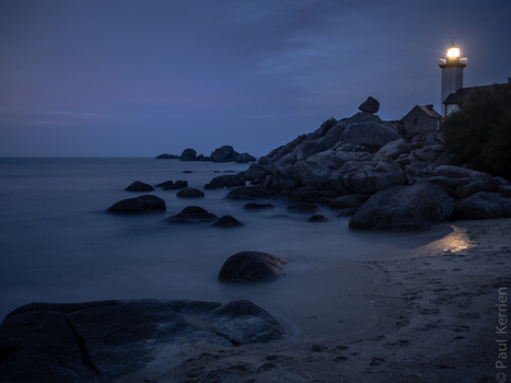 photo en Finistère, Bretagne et...: fin du jour à Pontusval à Brignogan (5 photos) | photo en Bretagne - Finistère | Scoop.it