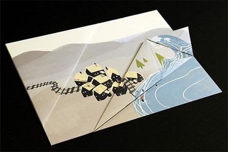 Children's Book Unfolds Like Origami [Video] - PSFK | Video | Scoop.it