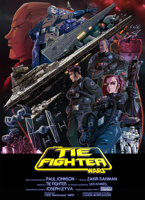 Watch a New Star Wars Animation, Drawn in a Classic 80s Japanese Anime Style | Pedalogica: educación y TIC | Scoop.it