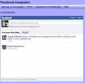 #Facebook Connect for Moodle | Moodle News | mind the app | Scoop.it