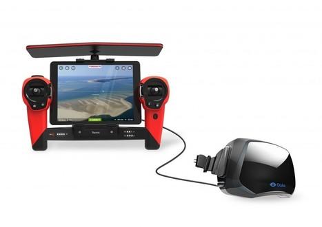 Parrot Bebop Drone – Fast, Reliable and Oculus Rift-Friendly Drone - GadgetPress | GadgetPress | Scoop.it