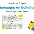 Jeux de mot Serpent et Echelle - Sight Word Game Snakes and Ladders | Primary French Immersion Education | Scoop.it
