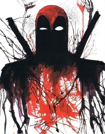 Deadpool, in Jason WGavin's Artist: Kevin Eslinger Comic Art Gallery Room - 1195412 | Savvy Comics | Scoop.it