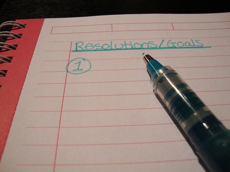 Faites vous partie des 8% de personnes qui concrétisent leurs résolutions ?   Méthodes d'organisation   Scoop.it