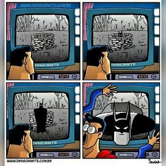 Superman vs Batman : 15 BD délirantes [humour]   Info Magazine   Scoop.it