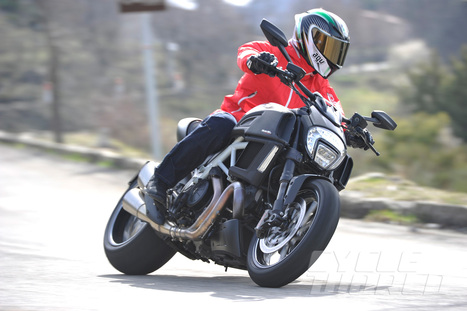 2015 Ducati Diavel Carbon- First Ride Cruiser Review- Photos- Specs | Ductalk Ducati News | Scoop.it