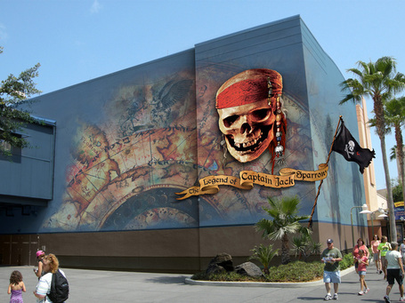 The Legend of Captain Jack Sparrow: New Artworks | Walt Disney World Park Hopper | Scoop.it
