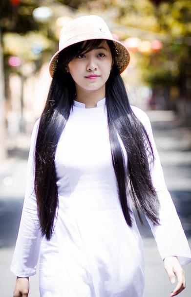 Vẻ đẹp hồn nhiên của nữ sinh 9x trong tà áo dài | Ảnh hot girl cute, girl xinh gợi cảm | Scoop.it