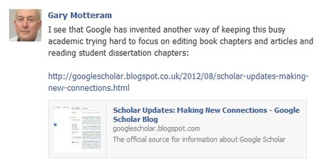 Scholar Updates: Making New Connections - Google Scholar Blog | Multiliteracies | Scoop.it