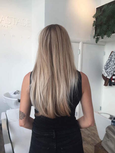 Vergeet ombre en balayage: dit is de haarkleur trend van deze zomer - Vogue Nederland | kapsel trends | Scoop.it