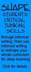 Critical Thinking Strategies Are Tied to Nonfiction Writing | Academic writing | Scoop.it