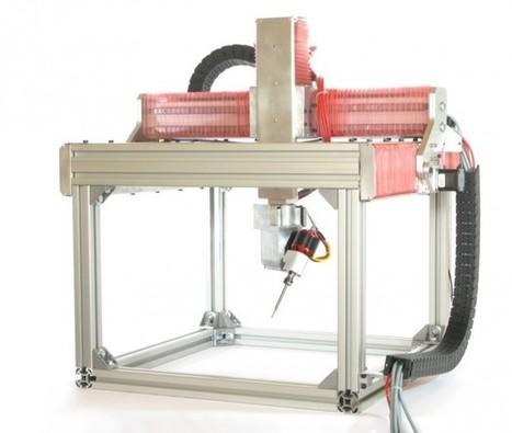 5axismaker Multi-fabricator: Mill, Scan, Print, Spray & Cut - Technabob (blog) | 3D Technology | Scoop.it