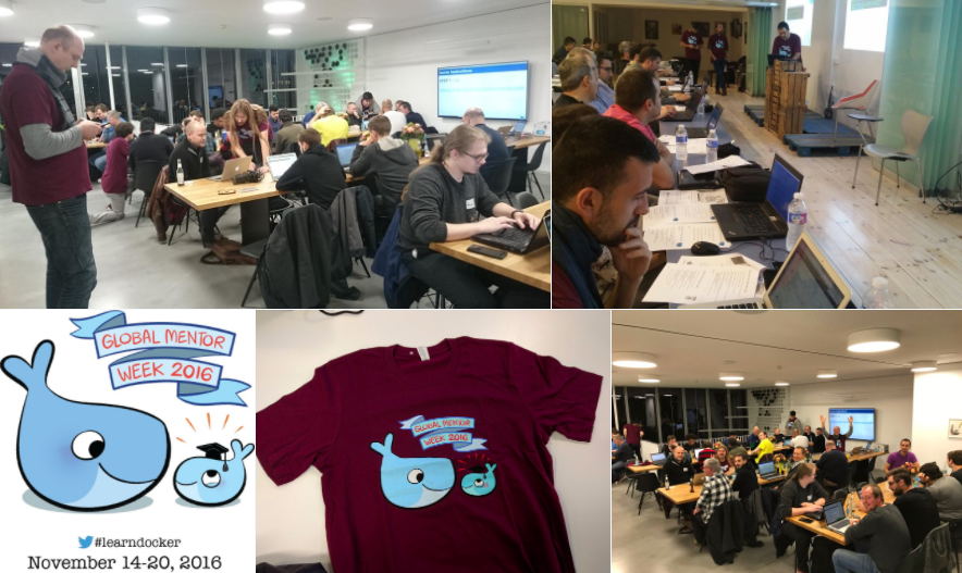 Docker Global mentor week