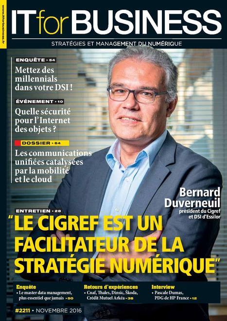 IT for business n°2211 - novembre 2016   Infothèque BBS Brest - L'actualité des revues   Scoop.it