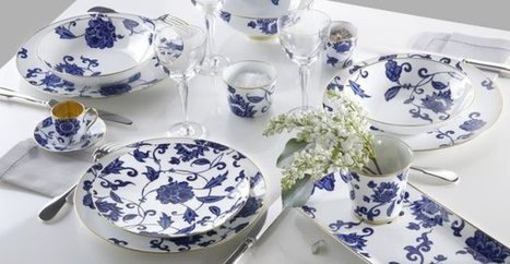 Beautiful Bernardaud Tableware Collection From China Royale | Fashion & Lifestyle | Scoop.it