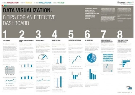 8 tips for an effective dashboard   Nonprofit Data Visualization   Scoop.it