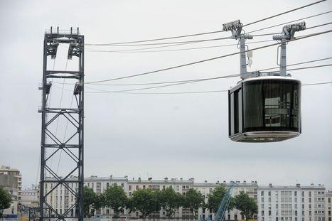 Première cabine installée pour le téléphérique de Brest | Géographie : les dernières nouvelles de la toile. | Scoop.it