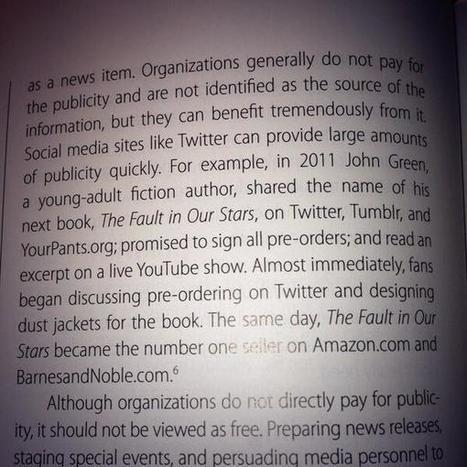 Twitter / MCCorrick: Apparently @realjohngreen has ... | ebook writers | Scoop.it