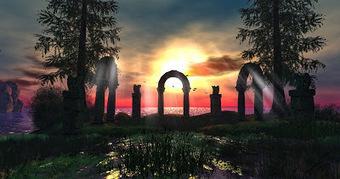 Lost Dream-Les reves perdus-, Wonderous Love - Second Life - A Gorgeous Sunrise at Lost Dream - Eddi and Ryce Photograph Second Life | Second Life Destinations | Scoop.it