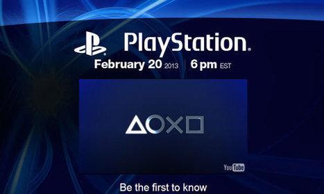 La Playstation 4 dévoilée par Sony le 20 février ? - 1GEEK.FR | Tout ce que j'aime dans le monde geek | Scoop.it