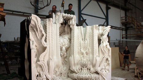 Architects 3D Printed An Entire Room And The Result Is Intricately Beautiful | VIM | Scoop.it