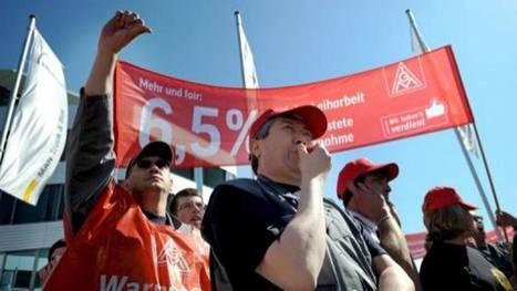 Allemagne: la grève dans la métallurgie mobilise 400 000 travailleurs | Forge - Fonderie | Scoop.it