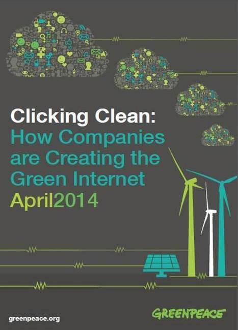 Greenpeace se penche sur l'impact écologique du Cloud Computing | Sustainability | Scoop.it