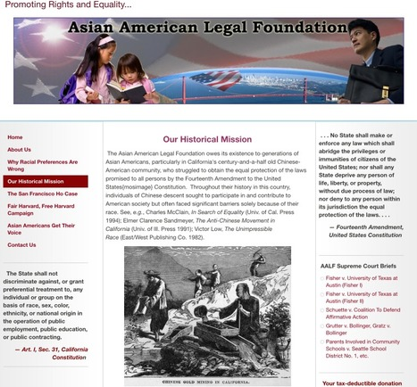 Asian American Legal Foundation:  Historical Mission | Chinese American Now | Scoop.it