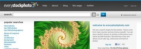 Top 12 des banques d'images gratuites et libres de droits | Enseignement-apprentissage | Scoop.it