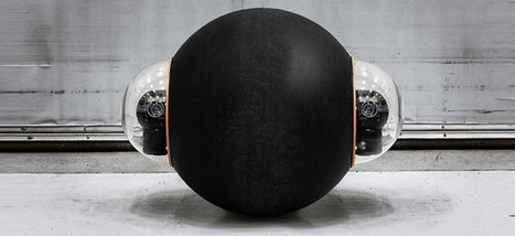 GuardBot: US marines testing robot guard balls that can swim and roll on any terrain | Robotic applications | Scoop.it