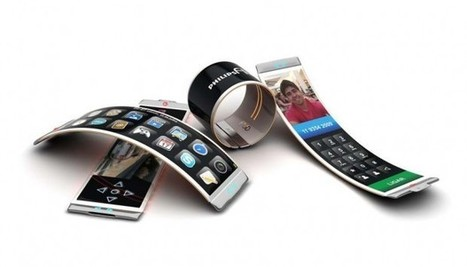 Philips Fluid smartphone | wordlessTech | Technology and Gadgets | Flexible screen | Scoop.it