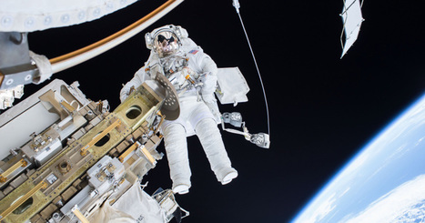 Watch NASA astronauts spacewalk to install a new dock for the International SpaceStation | Vous avez dit Innovation ? | Scoop.it