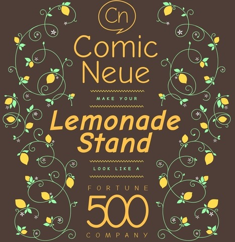 Get Comic Neue | webdesign to webdesigners and UX designers | Scoop.it