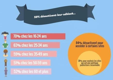 Adblocks: 59% des utilisateurs les désactivent, et pas seulement sous la contrainte   Mobile, Web & IoT   Scoop.it