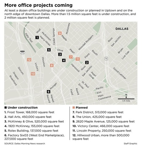 More construction cranes coming for Dallas' booming Uptown district | North Texas Real Estate | Scoop.it