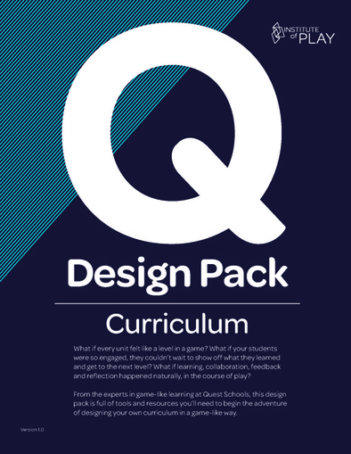 Q Curriculum Design Pack | Institute of Play | Games, gaming and gamification in Higher Education | Scoop.it