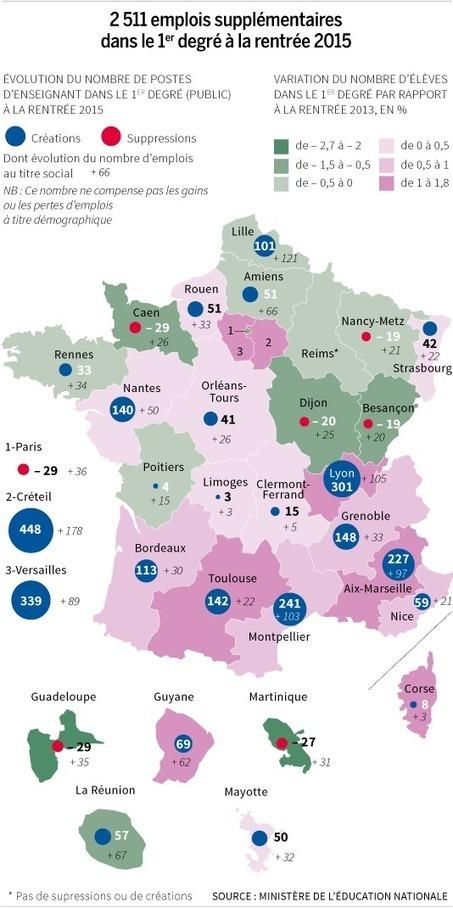 Education prioritaire : le plan à hauts risques de Najat Vallaud ... - Le Monde | Collège Charles Péguy - Arras | Scoop.it