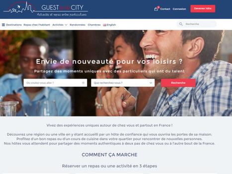 Guest in the City veut devenir le Airbnb du loisir | Veille numérique e-tourisme | Scoop.it