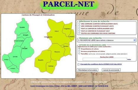PARCEL-NET, le couteau-suisse du cadastre ancien | GenealoNet | Scoop.it