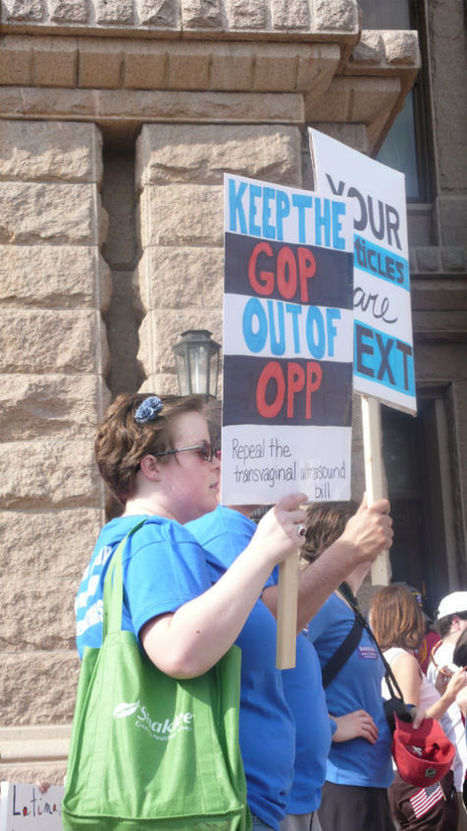 The Best Signs from the War on Women Rally - Dallas | Coffee Party Feminists | Scoop.it