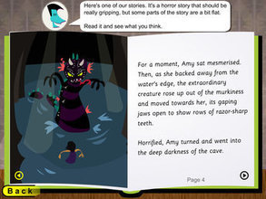 Super stories: The Sea Cave: verbs and adverbs | Developing the writer | Scoop.it