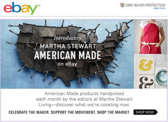 Is Martha Stewart eBay's Answer to Etsy? | Consumption Junction | Scoop.it
