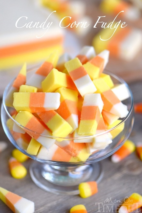 Easy Candy Corn Fudge - Mom On Timeout | Passion for Cooking | Scoop.it