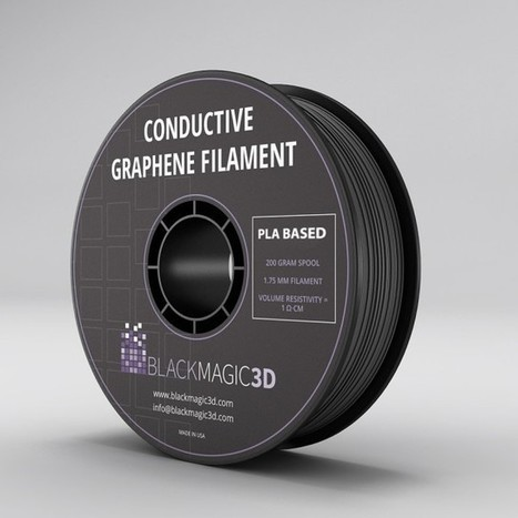 Conductive Graphene Filament for 3D Printing | Architecture, design & algorithms | Scoop.it