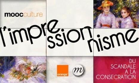 Clic France / A l'occasion de sa nouvelle exposition du Luxembourg, la RMN lance avec Orange un MOOC sur le thème de l'impressionnisme | Le Pays des Impressionnistes: l'actu pour les pros ! | Scoop.it