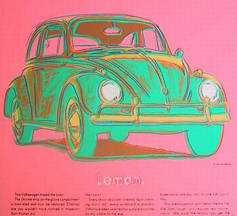 Andy Warhol's car art will be on every auto lover's wishlist | Elementary Art Education and Technology | Scoop.it