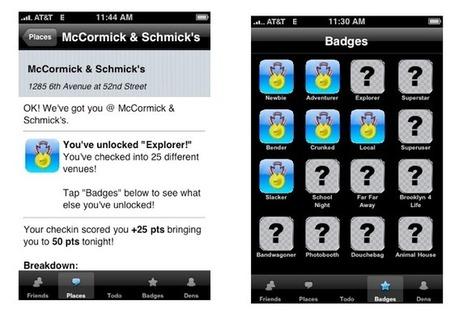 A quoi ressemblait le prototype de Foursquare il y a 4 ans ? | Be Social ! | Scoop.it